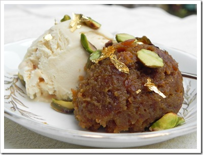 Carrot Halwa seved with Ice Cream