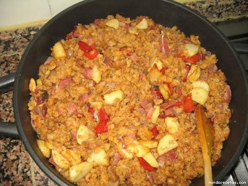 Cocinar Migas De Pan | Migas De Pan Duro Alcoiama Blog Cositas De Andar Por Casa
