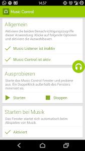 Music Control screenshot 0