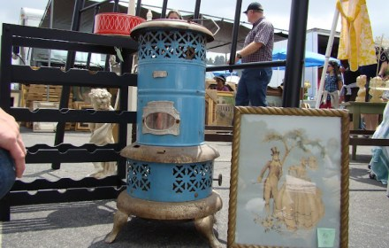 the estate of things chooses antique heater