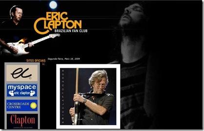 Brazilian Fan Club Eric Clapton