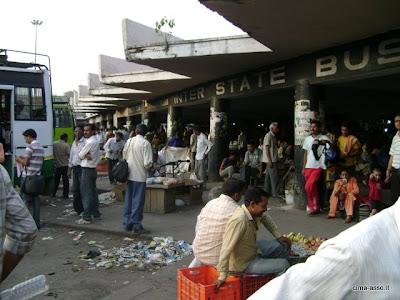La stazione dei bus interstatali