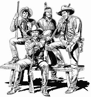 Tex Willer ed i suoi Pards