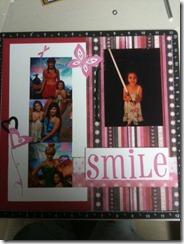 smile left side