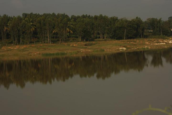 View of Bheeman Kuppa Lake