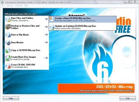 mengcopy data ke cd