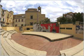 Sizilien - Das Amphitheater von Altavilla Milicia