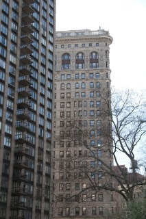 Flat Iron Building... once the tallest building in the world