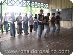 Proses Latihan Perpisahan kelas XII IPA di SMAN Pintar Kuansing 3