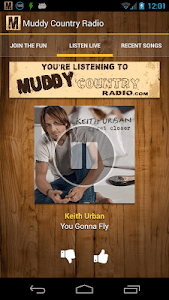 Muddy Country Radio screenshot 0