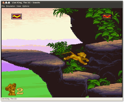 The Lion King in Snes9x