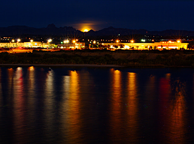 Moonrise over Bullhead City