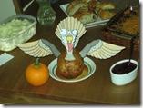 printable turkey decoration