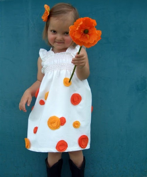 The Poppy Dress Tutorial {A Lemon Squeezy Home}