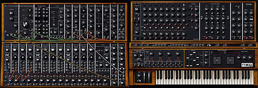 Moog Modular Software Synthesizer