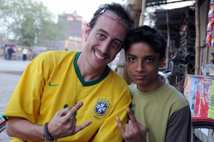 Gabriel, a Brazilian that love the world