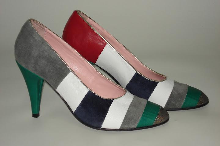 Pantofi colorati - Coca Zaboloteanu