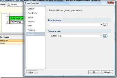 Advanced group properties
