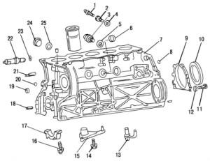 Engine diagrams mercedes