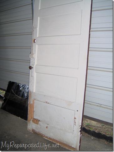 old door repurposed