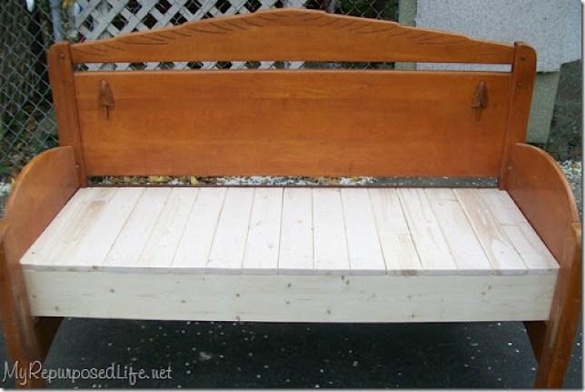 full headboard bench tutorial