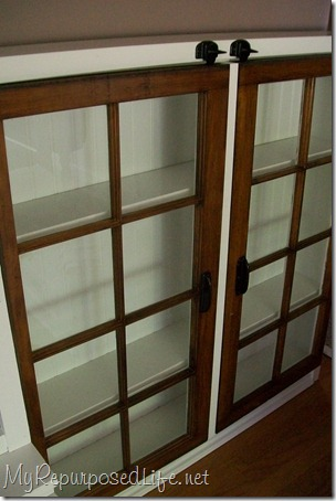 repurposed window cabinet 8