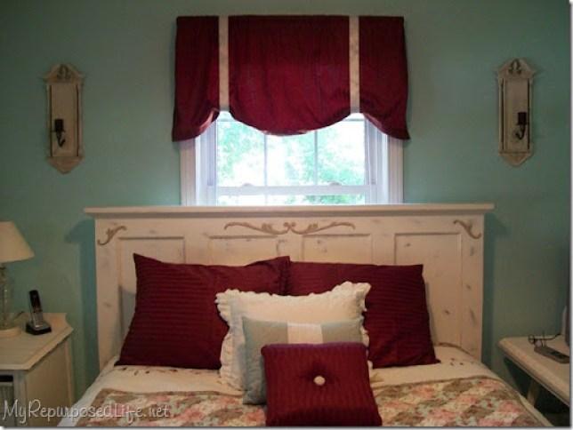 bedroom updates including glazed sconces