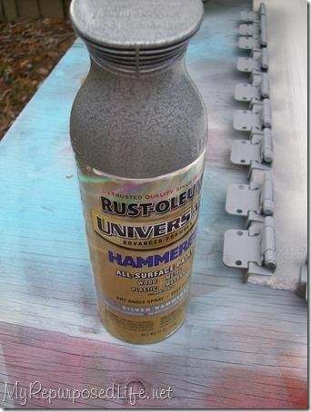 rustoleum hammered finish paint
