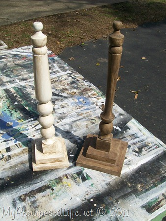 spindles make great decor items