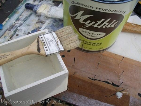 whitewash paint technique