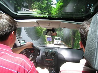 Driving to Marksburg