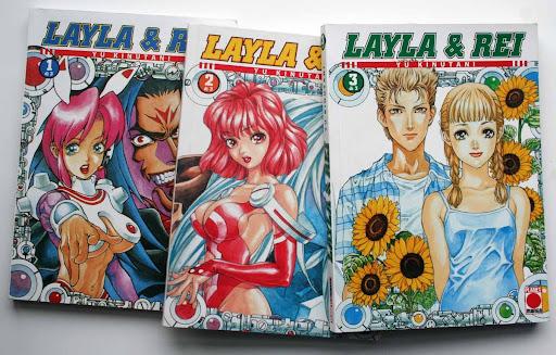 En la edición italiana son tres tomos. Estas ilutraciones son las portadas de los tomos 1, 2 y 6 de la edición española.