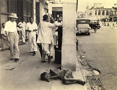 This is scene from Kolkatta in 1943. Just 4 years before independence. Millions died, like flies, on the streets of Kolkatta, and across Bengal. Is this the economy that that the Nehru-Gandhi run into ground?