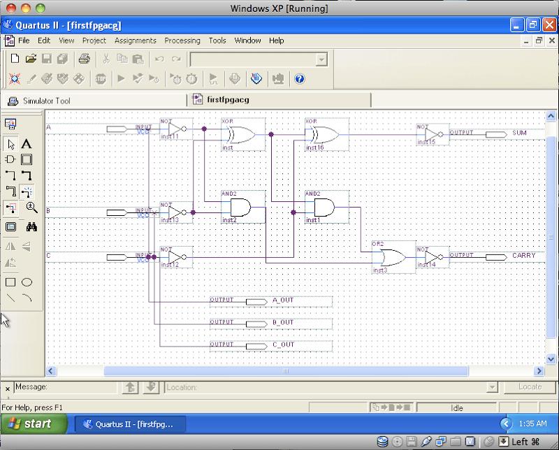 Pin Assignment for Altera DE2 (3/4)