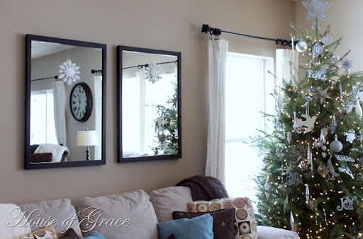 How I Decorate My Mirrors For Christmas Bonnie Donahue