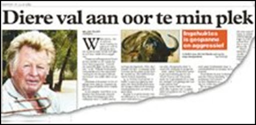 Munk Roy Hoedspruit farmer murder inaccurate finding of accidental death by buffalo attack