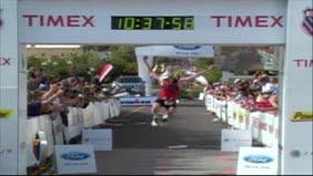 Bart Finish @ IronMan St George