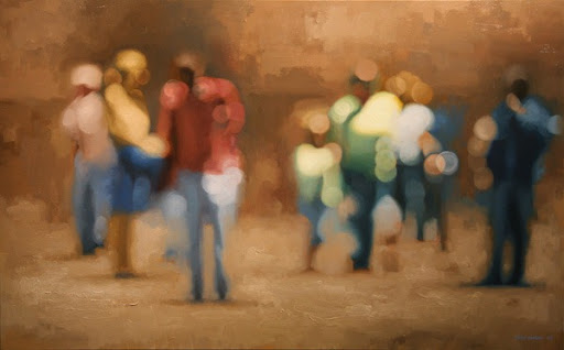 Soft Focus Oil Paintings by Philip Barlow | Amusing Planet