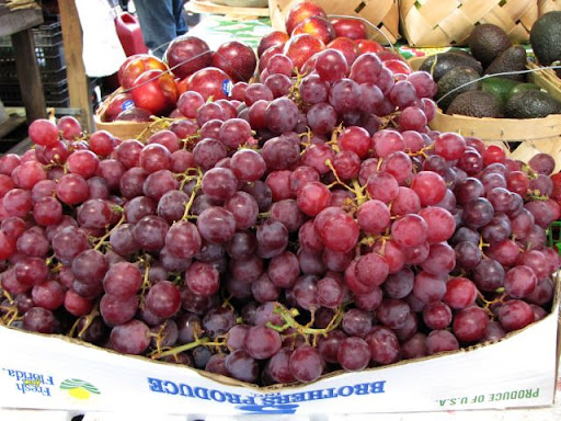 Grapes at the Farmer's Market, Nashville, Tennessee