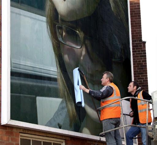 Ruth on a Billboard