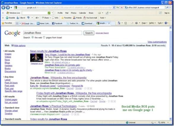 google search - jonathanross