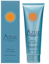 The Bionic Beauty blog reviews Azur Natural Face and Body SPF Sunscreen