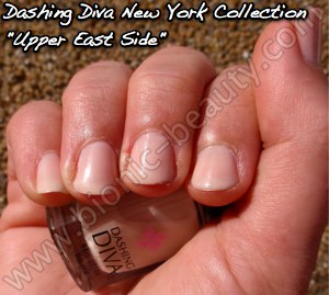 Dashing Diva Manhattan collection nail polish in Upper East Side