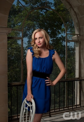 Hair styling tips from The Vampire Diaries TV Show - Candice Accola as Caroline