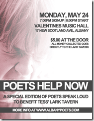 Poets Speak Loud - Poets Help Now