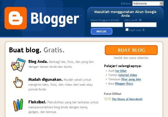 Blogger - Free Blog from Google