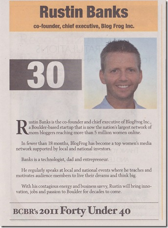 forty under 40 article