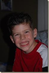 PJ after haircut