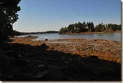 low tide at point 2