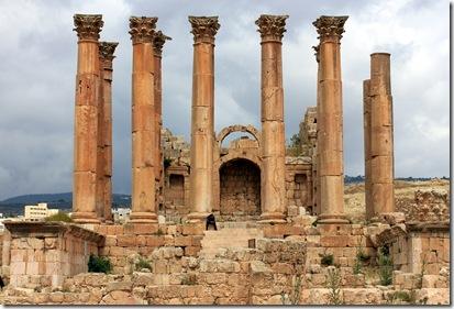 The Sanctuary of Artemis, Jerash, Jordan